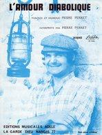 PIERRE PERRET - L'AMOUR DIABOLIQUE - 1970 - EXC ETAT COMME NEUF - - Musique & Instruments
