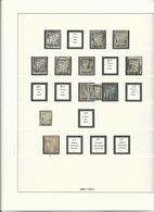 FRANCE : Lot De Timbres Taxes Sur 4 Pages D'album. Neufs** Ou * Ou Oblitérés. Cote : Plus De 800 € - Timbres