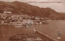 Monaco Monte Carlo L Entree Du Port Et Le Tir Aux Pigeons - Sonstige