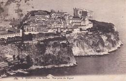Monaco Le Rocher Vue Prise Du Signal - Sonstige