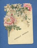 Cacao PAYRAUD Joli Chromo Decoupis Fleur Chrysantheme - Chocolat
