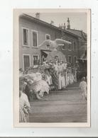 OYONNAX (AIN) CARTE PHOTO DE LA FETE DES FLEURS (BELLE ANIMATION) - Oyonnax