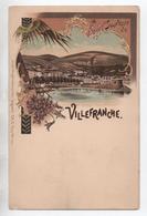 VILLEFRANCHE SUR MER (06) - CARTE TYPE GRUSS - Villefranche-sur-Mer