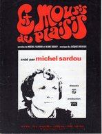 MICHEL SARDOU - ET MOURIR DE PLAISIR - 1970 - EXCELLENT ETAT PROCHE DU NEUF - VISUEL TYPE PSYCHE - - Music & Instruments