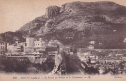 Monaco Monte Carlo Le Palais Du Prince Et La Condamine - Sonstige