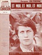 JACQUES DUTRONC / JACQUES LANZMANN - ET MOI ET MOI ET MOI - 1966 - BON ETAT - Musique & Instruments