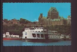 CANADA LA VILLE DE QUEBEC VUE DU TRAVERSIER QUEBEC LEVIS - Québec - Les Rivières