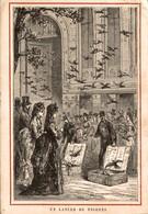 ECOLE NORMALE LA SEINE Chromo Didactique LANCER PIGEONS POSTE PIGEON Orient Egypte LIRE DOS - Autres