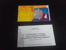 1 Ticket Exposition - LILLE - HOSPICE COMTESSE - Tickets D'entrée