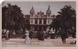 Monaco Monte Carlo Le Casino Cotes Des Jeux COIN COUPE GAUCHE - Sonstige
