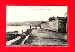 27-CPA LES ANDELYS - CRUE DE LA SEINE - JANVIER 1910 - INONDATIONS - Les Andelys