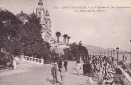 Monaco Monte Carlo Le Theatre Et Les Terrasses - Sonstige