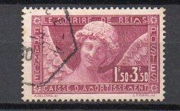- FRANCE N° 256 Oblitéré - 1 F. 50 + 3 F. 50 Sourire De Reims Caisse D'Amortissement 1930 - Cote 100 EUR - - Used Stamps