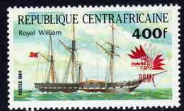 """Centrafricaine  N° 655 XX Timbre Surchargé """"Rome"""" Sans Charnière, TB - Centrafricaine (République)"""