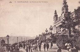Monaco Monte Carlo Le Casino Et Les Terrasses - Sonstige