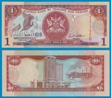 Trinidat & Tobago 1 Dollar Banknote 1985 UNC (1) Pick 41b   (18315 - Banknoten