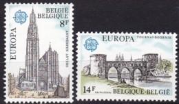 Cept, 1978, Belgien,  Mi.Nr.  1943/44, MNH **,  Europa - Europa-CEPT