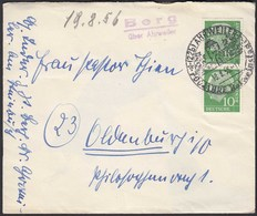 Posthilfstelle/Landpost Berg über Ahrweiler 1956    (26329 - Stamps