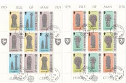 Cept, 1978, MAN,  Mi.Nr.  122/27, Used Oo,  Europa: Baudenkmäler. - Europa-CEPT
