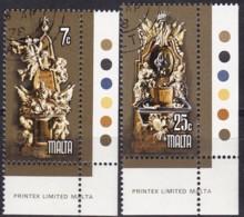 Cept, 1978, Malta,  Mi.Nr.  569/70, Used Oo,  Europa: Baudenkmäler. - Europa-CEPT