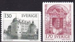 Cept, 1978, Schweden,  Mi.Nr.  1014/15, MNH **,  Europa: Baudenkmäler. - Europa-CEPT