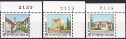 Cept, 1978, Zypern,  Mi.Nr.  484/86, MNH **,  Europa: Baudenkmäler. - Europa-CEPT