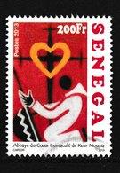 Timbre Du SENEGAL Oblitéré N° Y. & T. Inconnu Année 2013 - Sénégal (1960-...)
