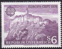 Cept, 1978, Österreich  Mi.Nr.  1573, MNH **,  Europa: Baudenkmäler. - Europa-CEPT