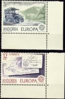 Cept, 1979, Andorra,sp. ,  Mi.Nr.  123/24 , MNH **,  Europa - Europa-CEPT