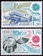 Cept, 1979, Frankreich,  Mi.Nr.  2148/49, MNH **,  Europa: - Europa-CEPT