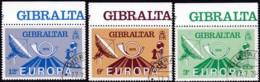 Cept, 1979, Gribraltar,  Mi.Nr.  392/94, Used Oo,  Europa: - Europa-CEPT