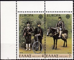 Cept, 1979, Griechenland,  Mi.Nr.  1352/53, MNH **,  Europa: - Europa-CEPT
