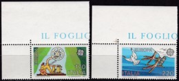 Cept, 1979, Italien,,  Mi.Nr.  1657/58, MNH **,  Europa: - Europa-CEPT
