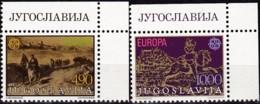 Cept, 1979, Jugoslawien,,  Mi.Nr.  1787/88, MNH **,  Europa: - Europa-CEPT