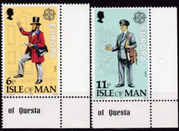 Cept, 1979, MAN,  Mi.Nr.  142/43, MNH **,  Europa: - Europa-CEPT