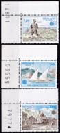 Cept, 1979, Monaco,  Mi.Nr.  1375/77, MNH **,  Europa: - Europa-CEPT