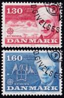 Cept, 1980, Dänemark,  Mi.Nr.  699/00, Used Oo,  Europa: - Europa-CEPT