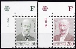 Cept, 1980, Färöer,  Mi.Nr.  53/54, MNH **,  Europa: - Europa-CEPT