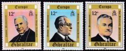 Cept, 1980, Gibraltar,  Mi.Nr.  405/07, MNH **,  Europa: - Europa-CEPT