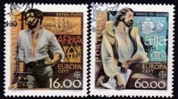 Cept, 1980, Portugal,  Mi.Nr.  1488/89, Used Oo,  Europa: - Europa-CEPT