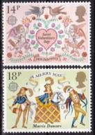 Cept, 1981, Großbritannien,  Mi.Nr.  867/68, MNH **,  Europa - Europa-CEPT