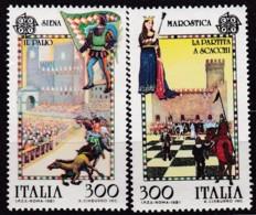 Cept, 1981, Italien,  Mi.Nr.  1748/49, MNH **,  Europa: - Europa-CEPT