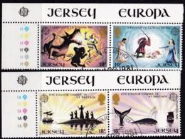 Cept, 1981, Jersey,  Mi.Nr.  253/54, Used Oo, Europa - Europa-CEPT