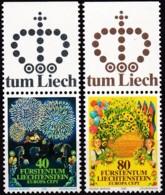 Cept, 1981, Liechtenstein,  Mi.Nr.  764/65, MNH **,  Europa: - Europa-CEPT