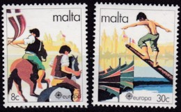 Cept, 1981, Malta,  Mi.Nr.  628/29, MNH **,  Europa: - Europa-CEPT