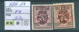 333-334  Xx Côte 28€ - Unclassified