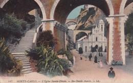 Monaco Monte Carlo L Eglise Sainte Devote - Sonstige