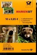 Folienblatt Bund Nr. 64 Tierbabys Postfr.MNH ** - [7] West-Duitsland