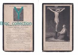 Les Touches, 44, Mémento De Théophile Leduc, 24/10/1915, 74 Ans, Souvenir Mortuaire, Décès, Deuil - Images Religieuses