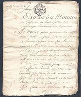 Très Bel Acte Notarié De Partage Du 29 Mars 1782 Secteur De Thionville - Gandrange Boussange 20 Pages - Manuscrits